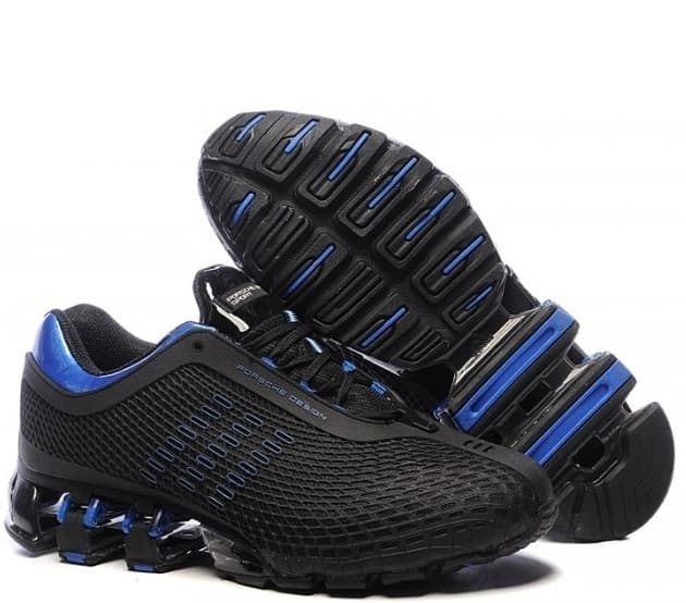 Adidas Porshe Design Run Bounce Black and Blue (40-45) Арт-11405