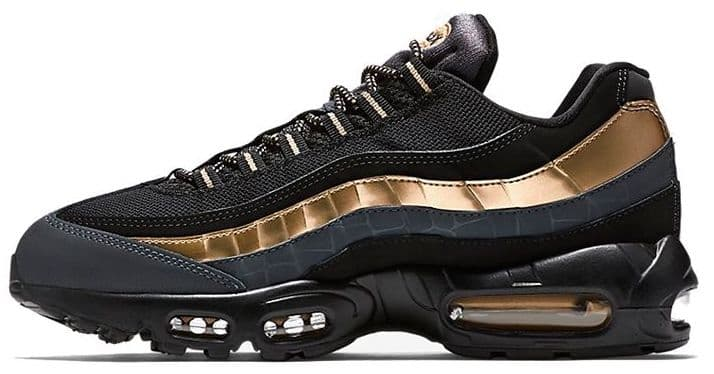 Nike Air Max 95 Black and Gold (41-45) Арт-3261