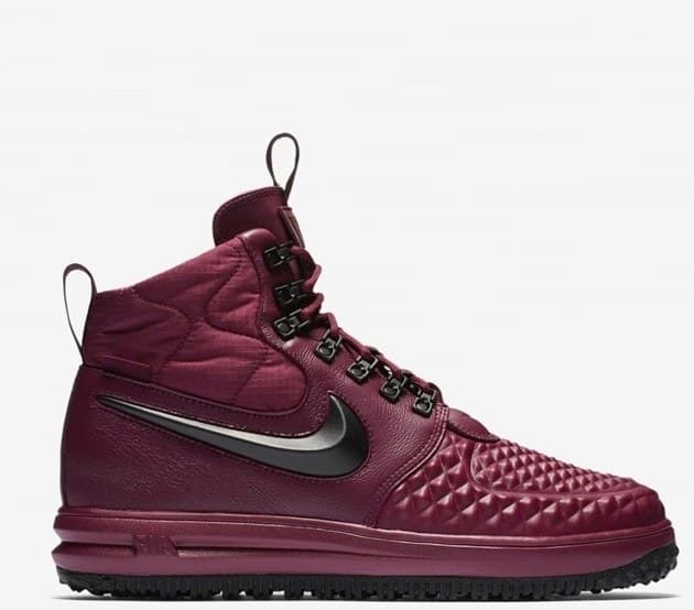 Nike Lunar Force Duckboot Бордовые (41-45) Арт-13534