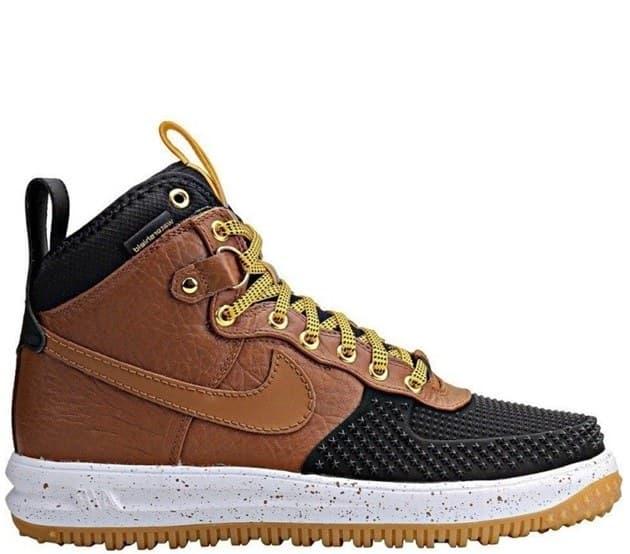 Nike Lunar Force Duckboot Black/Brown (41-45) Арт-13538