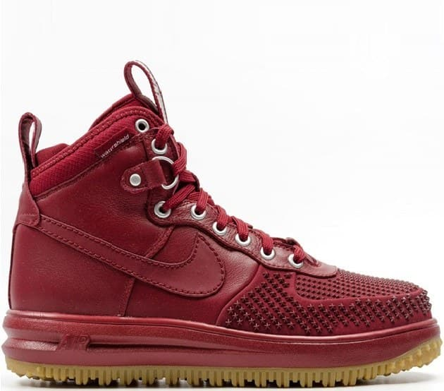 Nike Lunar Force Duckboot Burgundy (41-45) Арт-13541