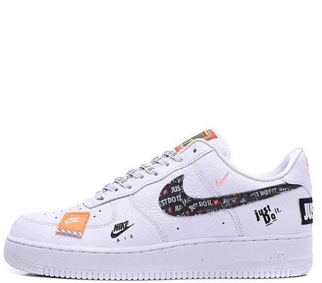 Nike Air Force LV8 «Just Do It» Белые (36-45) Арт-13572