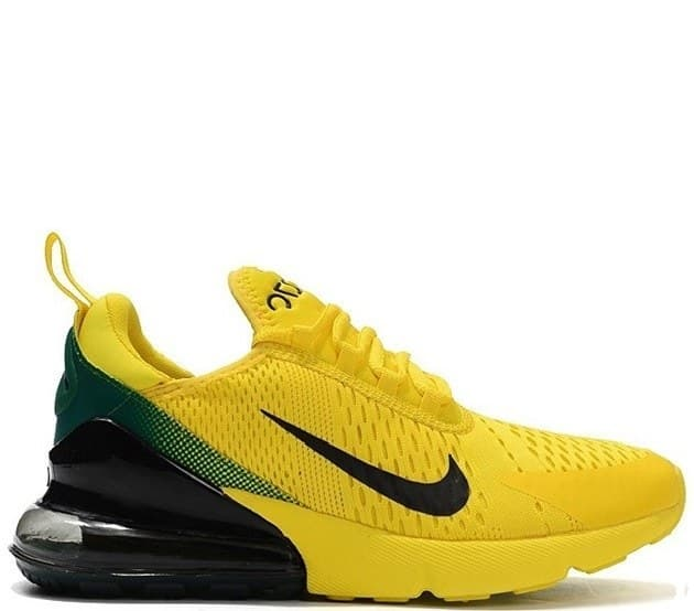 Nike Air Max 270 Yellow/Black (41-45) Арт-1741