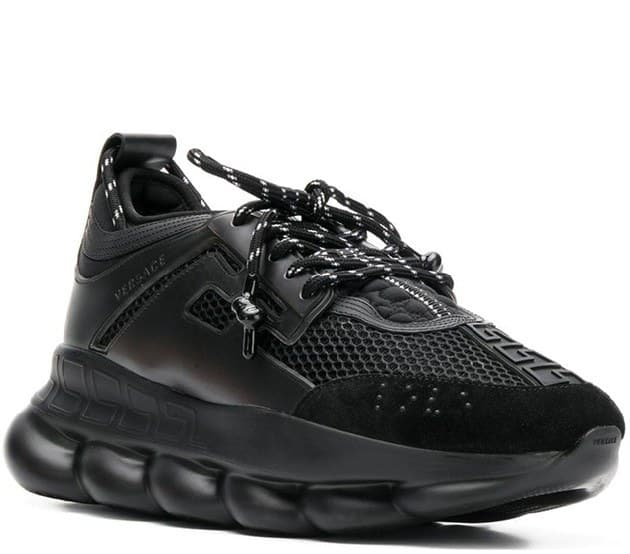Versace Chain Reaction Black (36-45) Арт-13590