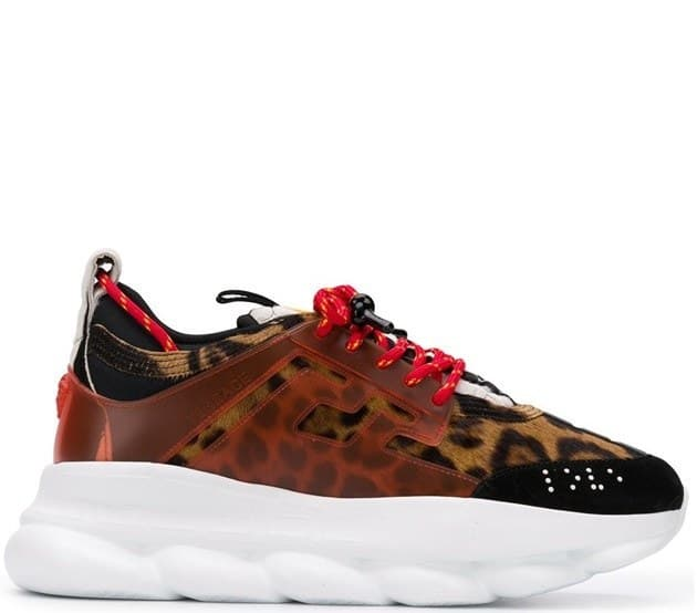 Versace Chain Reaction Leopard (36-45) Арт-13593