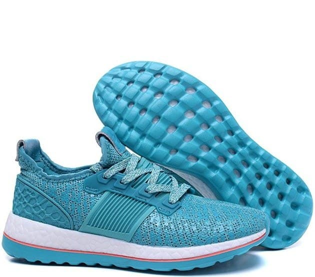 adidas pure boost turquoise (36-40) арт-13671