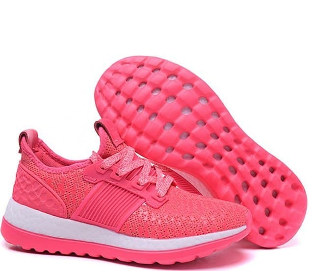 adidas pure boost pink (36-40) арт-13673