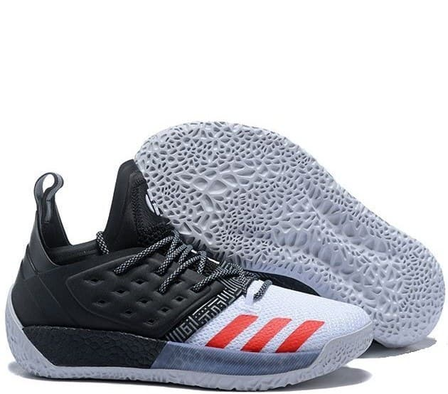 adidas harden black/red/white (41-45) арт-13700