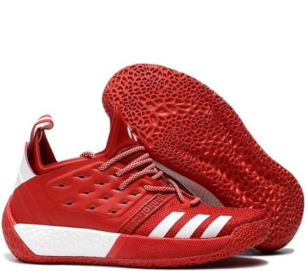 adidas harden red/white (41-45) арт-13701