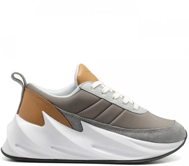 adidas sharks grey/brown (41-45) арт-13755