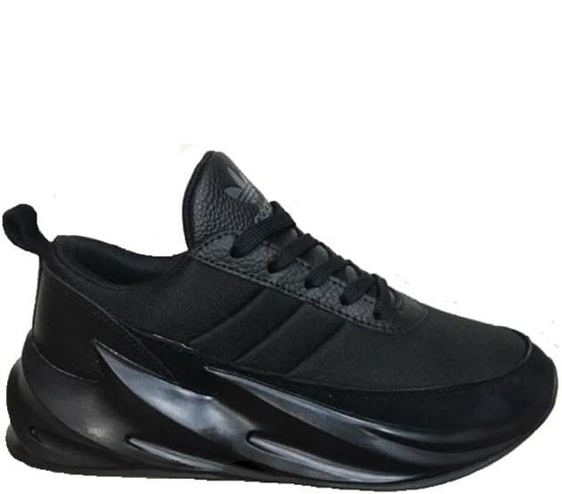 adidas sharks all black (36-45) арт-13756