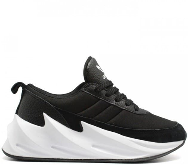 adidas sharks black/white (41-45) арт-13757