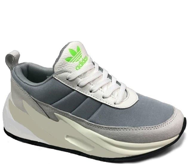 adidas sharks grey/white (36-45) арт-13759