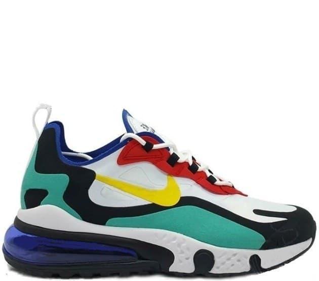 Nike Air Max 270 React Element 87 Green & White (41-45) арт-13769