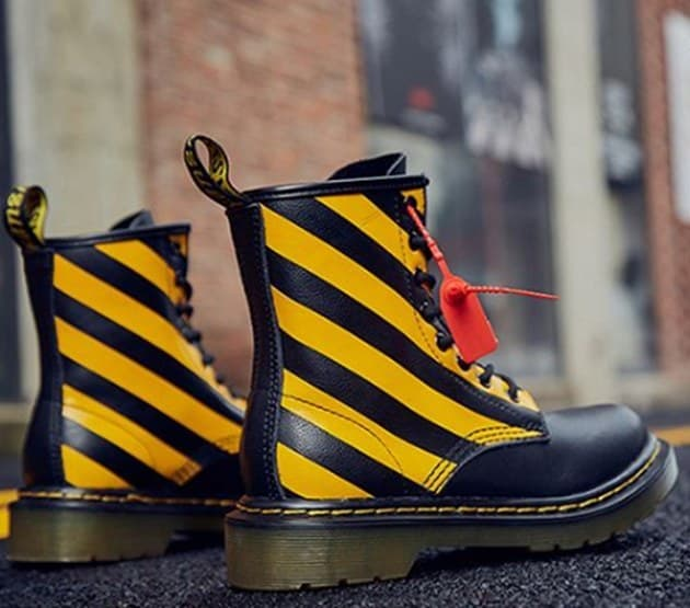 Dr.Martens Rover black/yellow (36-41) Арт-13829