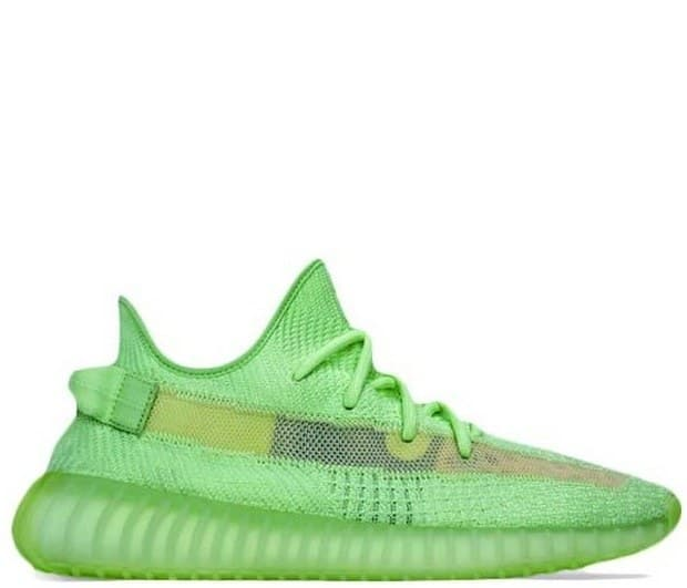 Adidas Yeezy Boost 350 V2 Glow in Dark Green (36-45) Арт-13848