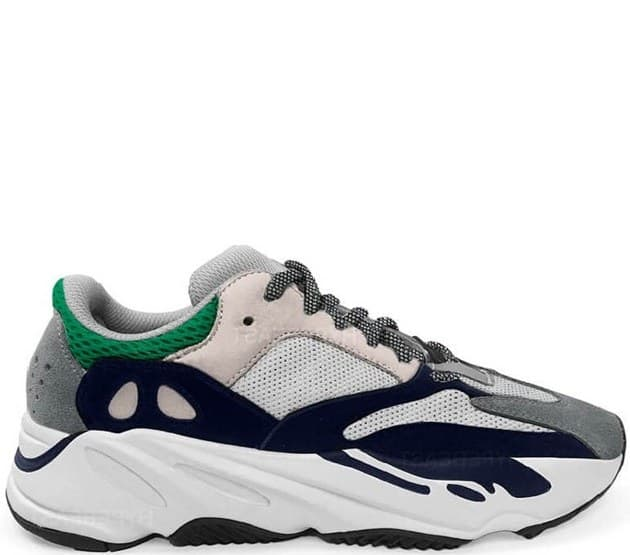 Adidas Yeezy Boost 700 Wave Runner White & Green (41-45) Арт-13867