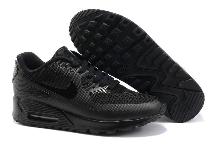 Nike Air Max 90 Hyperfuse Чёрные (36-45) Арт-2953