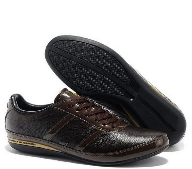 Adidas Porshe Design S3 Leather Коричневые (40-45) Арт-11403