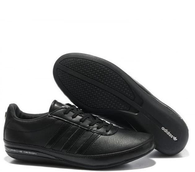 Adidas Porshe Design S3 Leather Чёрные (40-45) Арт-11404