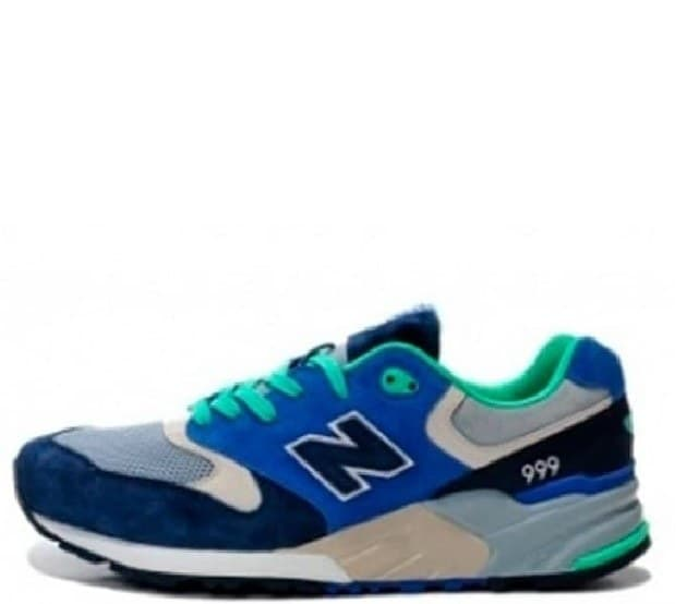 New Balance 999 Blue and Dark Blue (36-45) Арт-1155