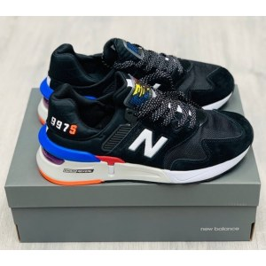 New Balance 997 Black & Blue (41-46) Арт-2201