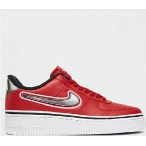 Nike Air Force LV8 NBA Красные (41-45) Арт-13554