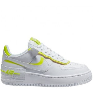 Nike Air Force 1 Shadow White Lemon Venom Volt (36-40) Арт-13569