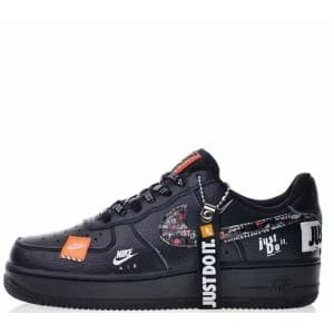 Nike Air Force LV8 «Just Do It» чёрные (36-45) Арт-13570