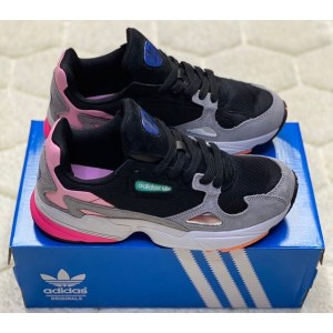 Adidas Falcon black/grey (36-40) арт-13682