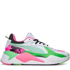 Puma RS-X MTV Green & Pink (36-40) арт-13815