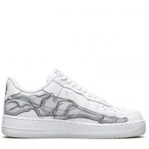 Nike Air Force Skeleton белые (41-45) Арт-13900