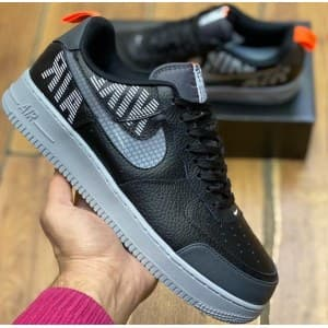 Nike Air Force black & grey (41-45) Арт-13910