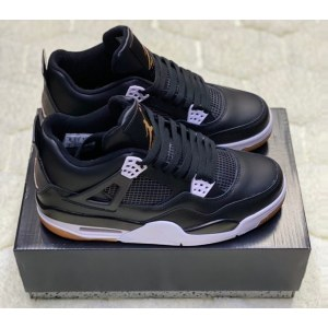 Nike Air Jordan 4 Retro Black (36-45) код: 14022