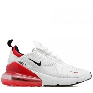 Nike Air Max 270 White & Red (36-40) Арт-14029