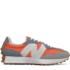 New Balance 327 Grey/Orange/White (40-45) Арт-14057
