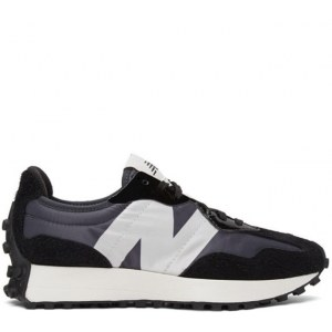 New Balance 327 black & white (37-41) Арт-14058