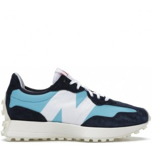 New Balance 327 blue & white (37-41) Арт-14060