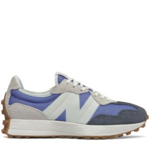 New Balance 327 grey & blue (37-41) Арт-14061