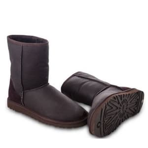 Ugg Australia Classic Short Brown Metalliс (40-45) Арт-20502