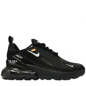 Nike Air Max 270 Off White Black (36-45) Арт-1729
