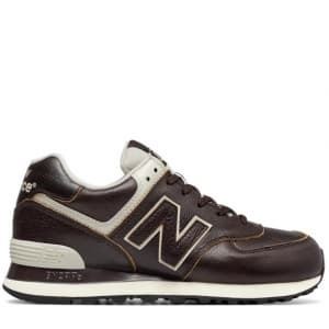 New Balance 574 Leather Brown (41-44) Арт-308