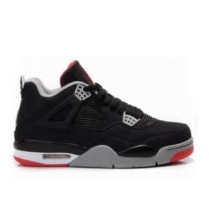Nike Air Jordan IV Retro Чёрные (36-45) Арт-4654