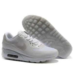 Nike Air Max 90 Hyperfuse Белые (36-45) Арт-2956