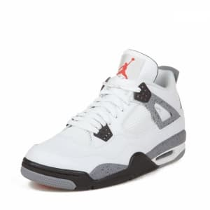Nike Air Jordan IV Retro Белые (41-45) Арт-4652