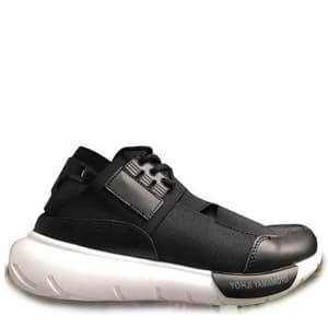 Adidas Y-3 Qasa Racer High Black/White (41-45) Арт-10804