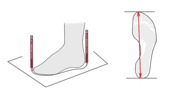 Размер стопы
